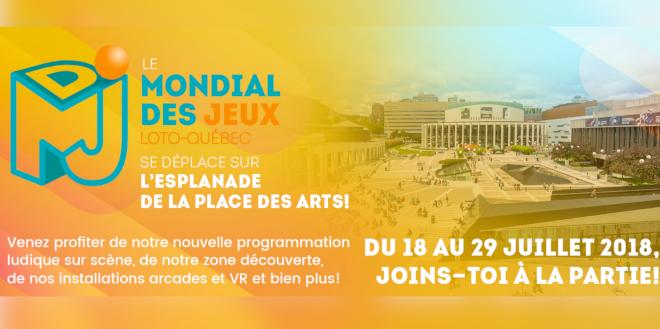 Mondial des Jeux Loto-Québec 2018: une programmation ludique extérieure