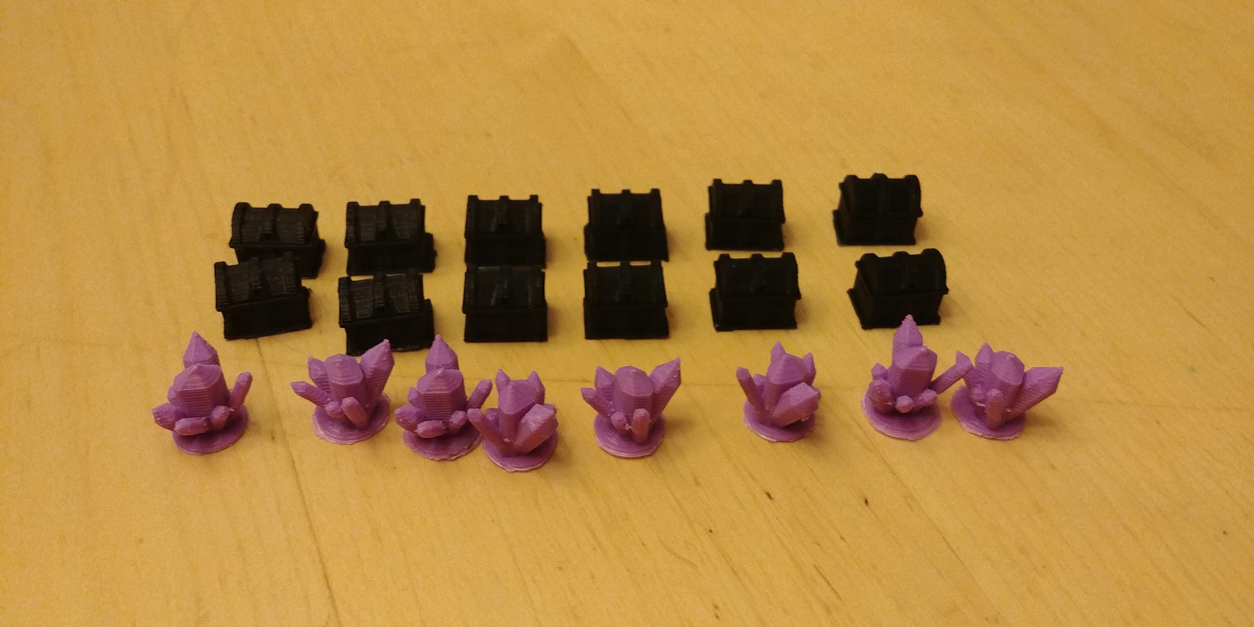 Impression 3D de pièces pour améliorer les composantes du jeu asymétrique Vast.