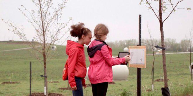La réalité augmentée dans un parcours conçu par des jeunes à Montréal