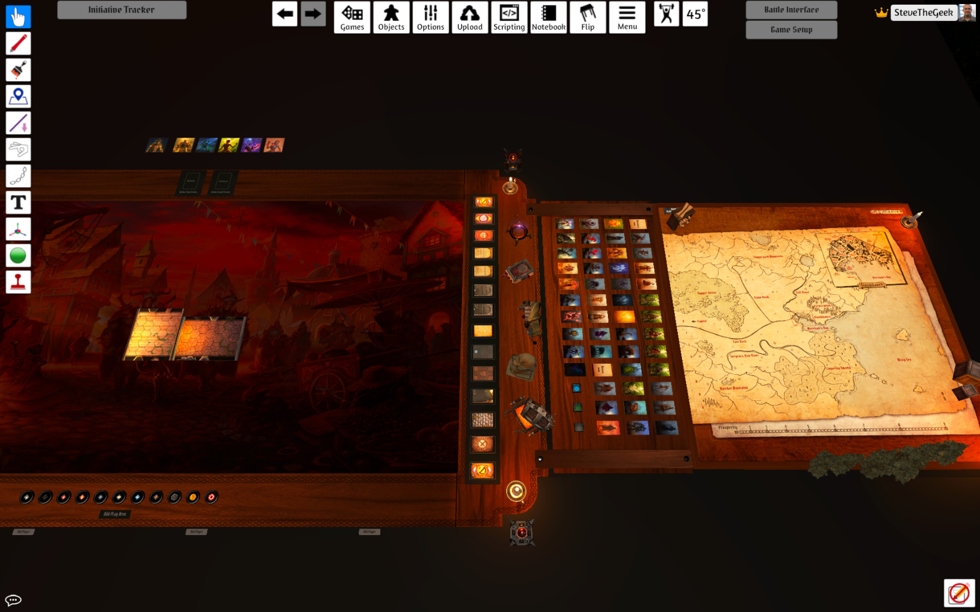 Tabletop Simulator - Gloomhaven
