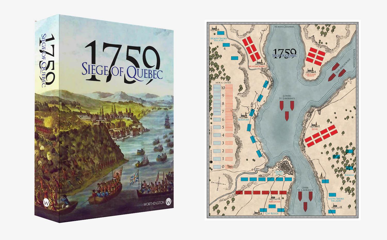 Kickstarter - Jeu de société 1759 Siege of Quebec