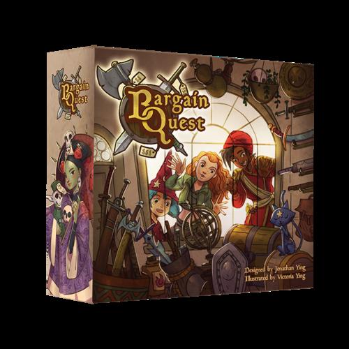 Kickstarter - Jeu de société Bargain Quest