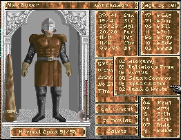 Darklands utilise un système d'habiletés qui évoluent avec leur utilisation, cinq ans avant que Bethesda fasse de même avec la série Elder Scrolls