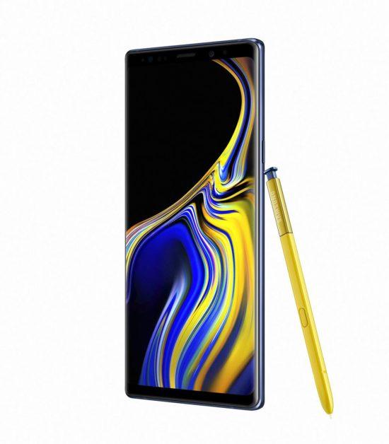 Le Galaxy Note9 sera accompagné d'une nouvelle version du stylet S Pen qui utilisera la technologie Bluetooth.
