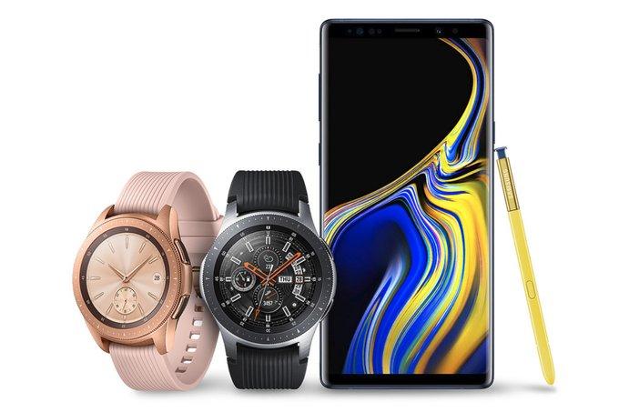 La nouvelle Galaxy Watch sera le compagnon idéal pour le Galaxy Note9.