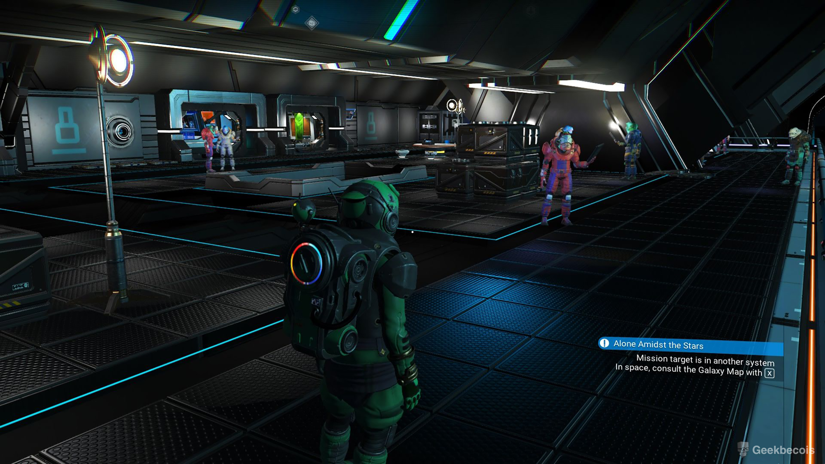 Station Spatiale améliorée dans No Man's Sky