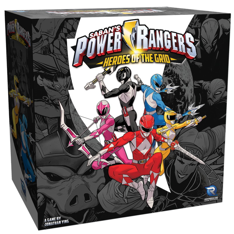 Jeu de société Power Rangers: Heroes of the Grid