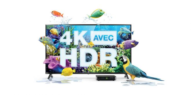 4K HDR chez Telus