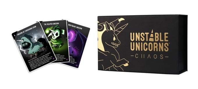Jeu de société Unstable Unicorns: Chaos