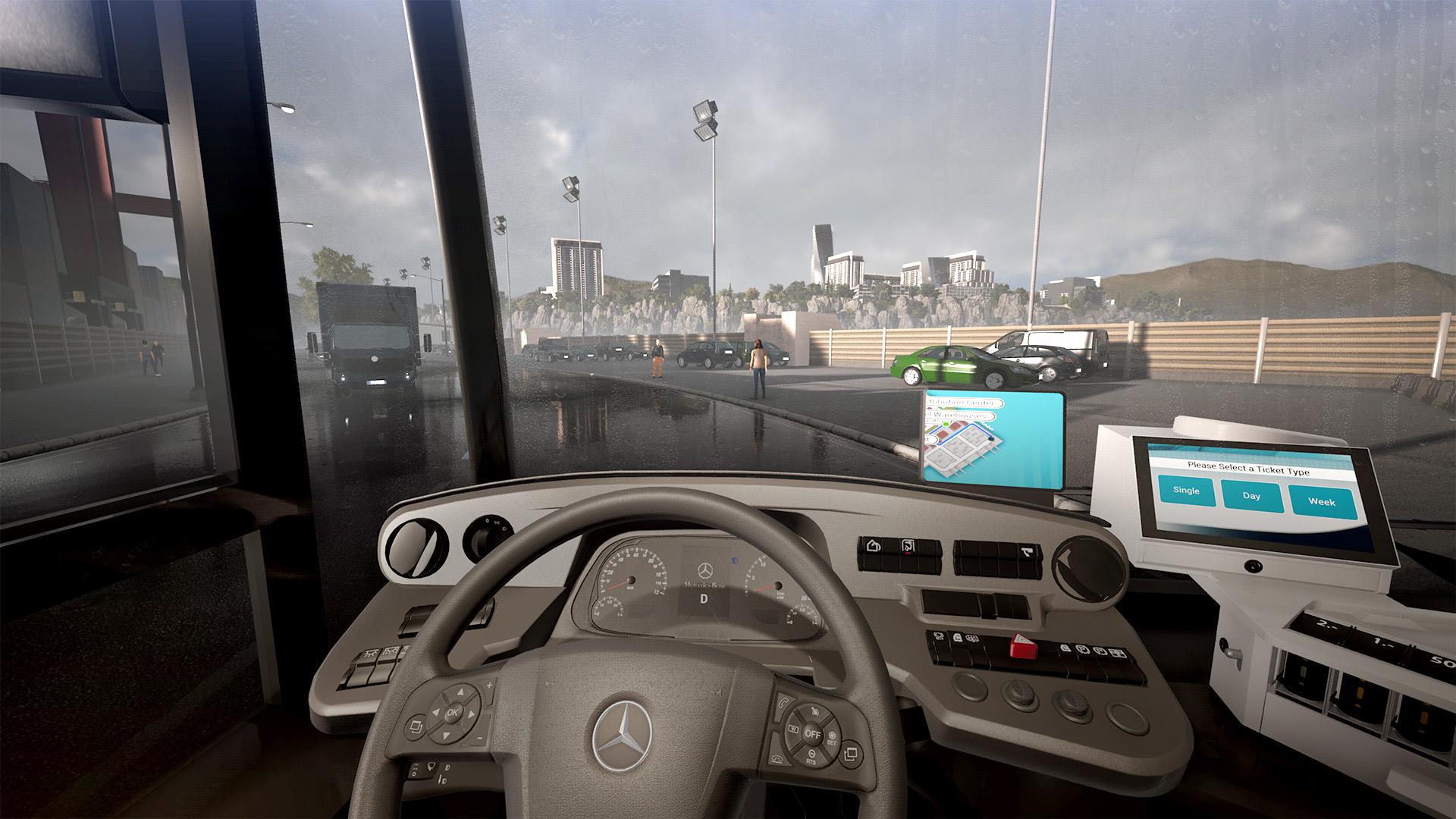Le poste de pilotage est hautement détaillé et les boutons et contrôles sont interactifs