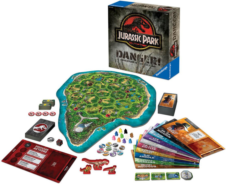 Jeu de société Jurassic Park: Danger