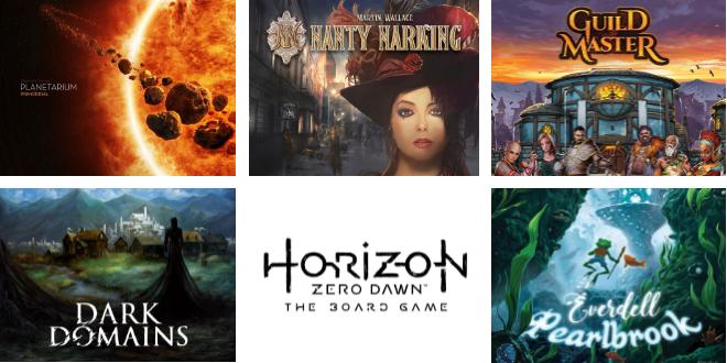Kickstarter – Les jeux de société à surveiller pour la fin septembre 2018