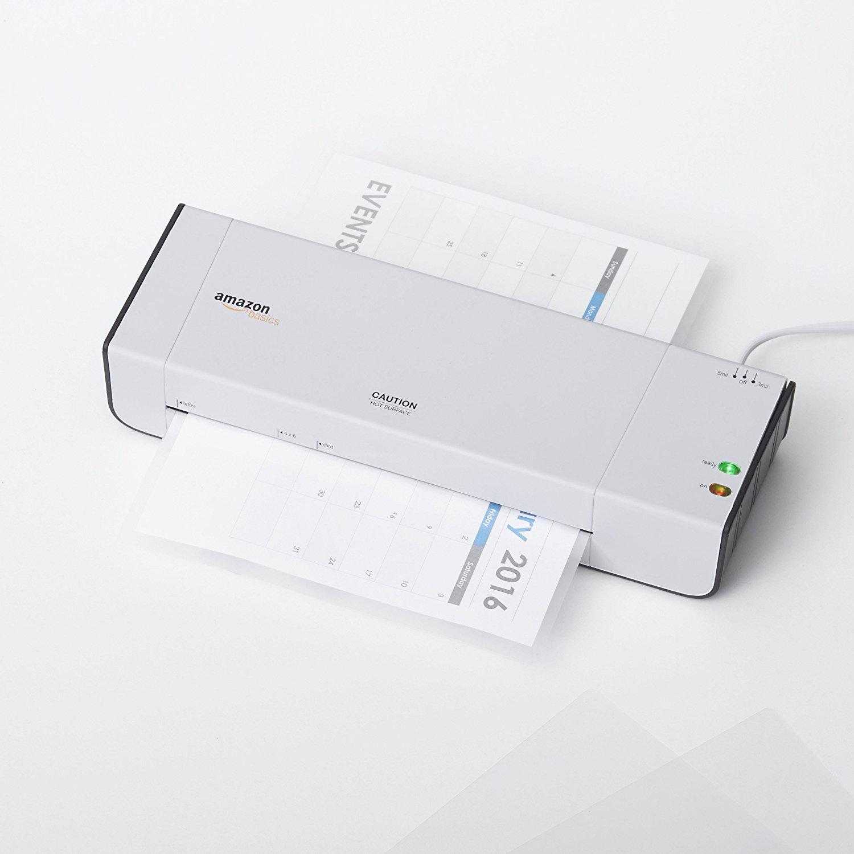 La plastifieuse thermique très efficace d'Amazon Basics.