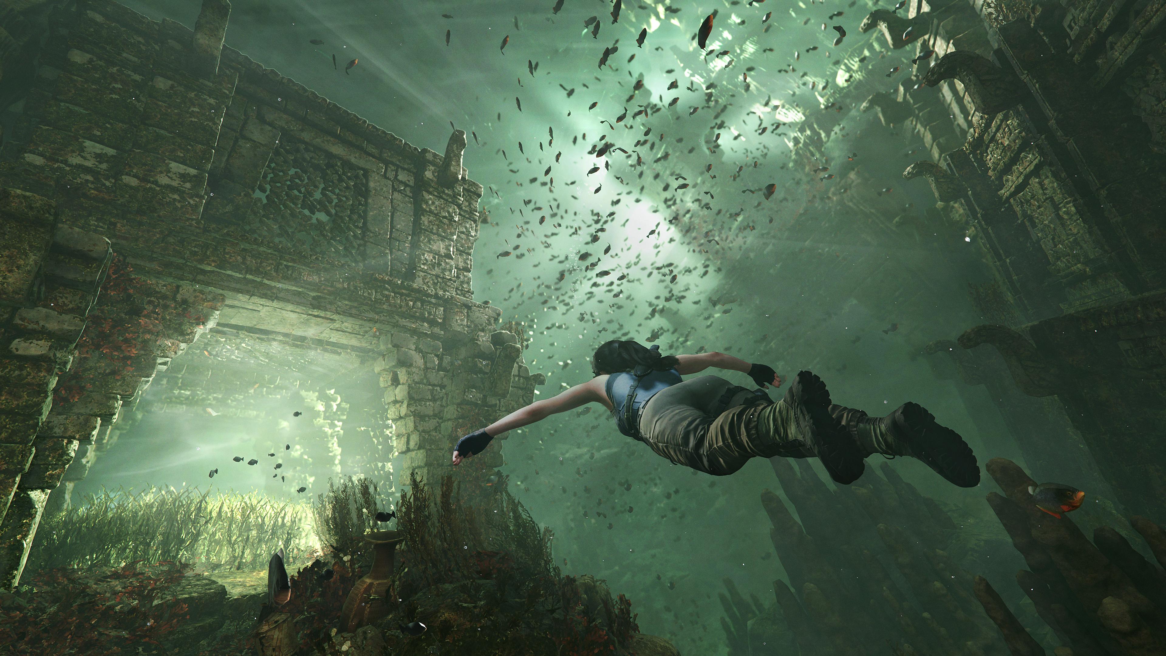 Les profondeurs sous-marine de la jungle cachent de nombreux secrets et trésors