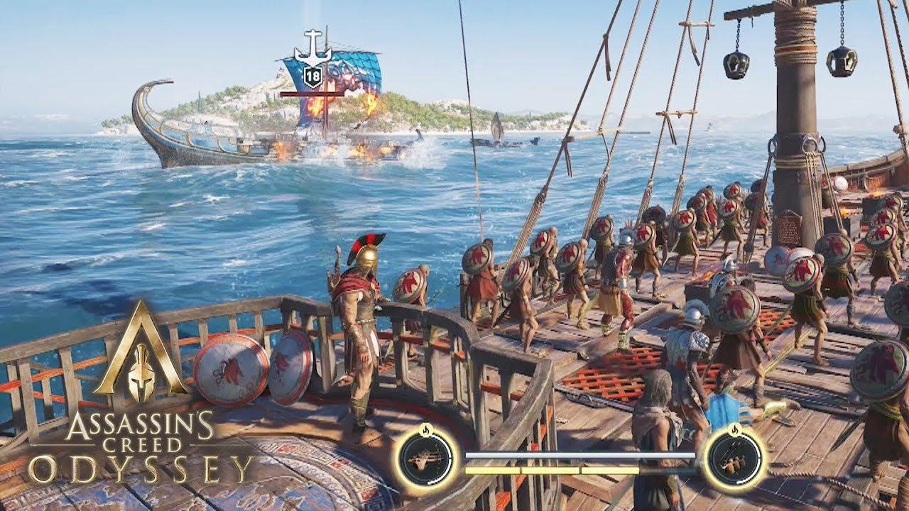 Maniez une galère est très différent des navires dans Black Flag, mais c'est tout aussi amusant