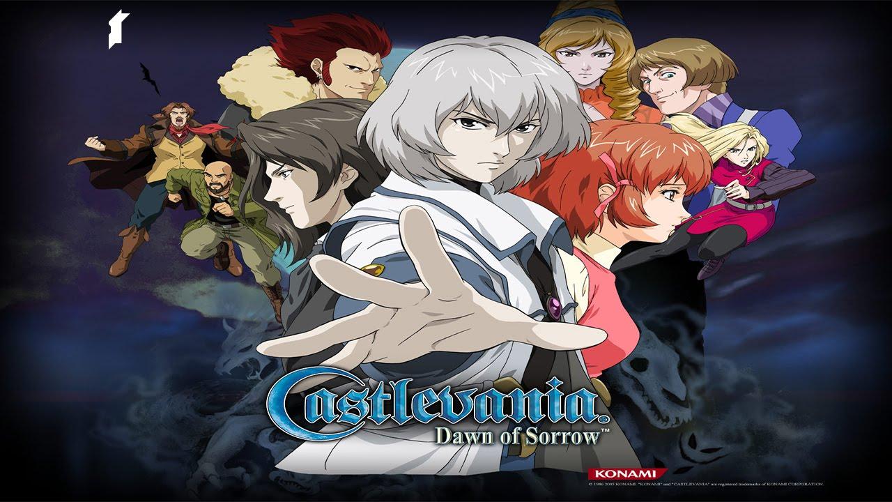 Dawn of Sorrow abandonne le style gothique des titres précédents pour l'anime