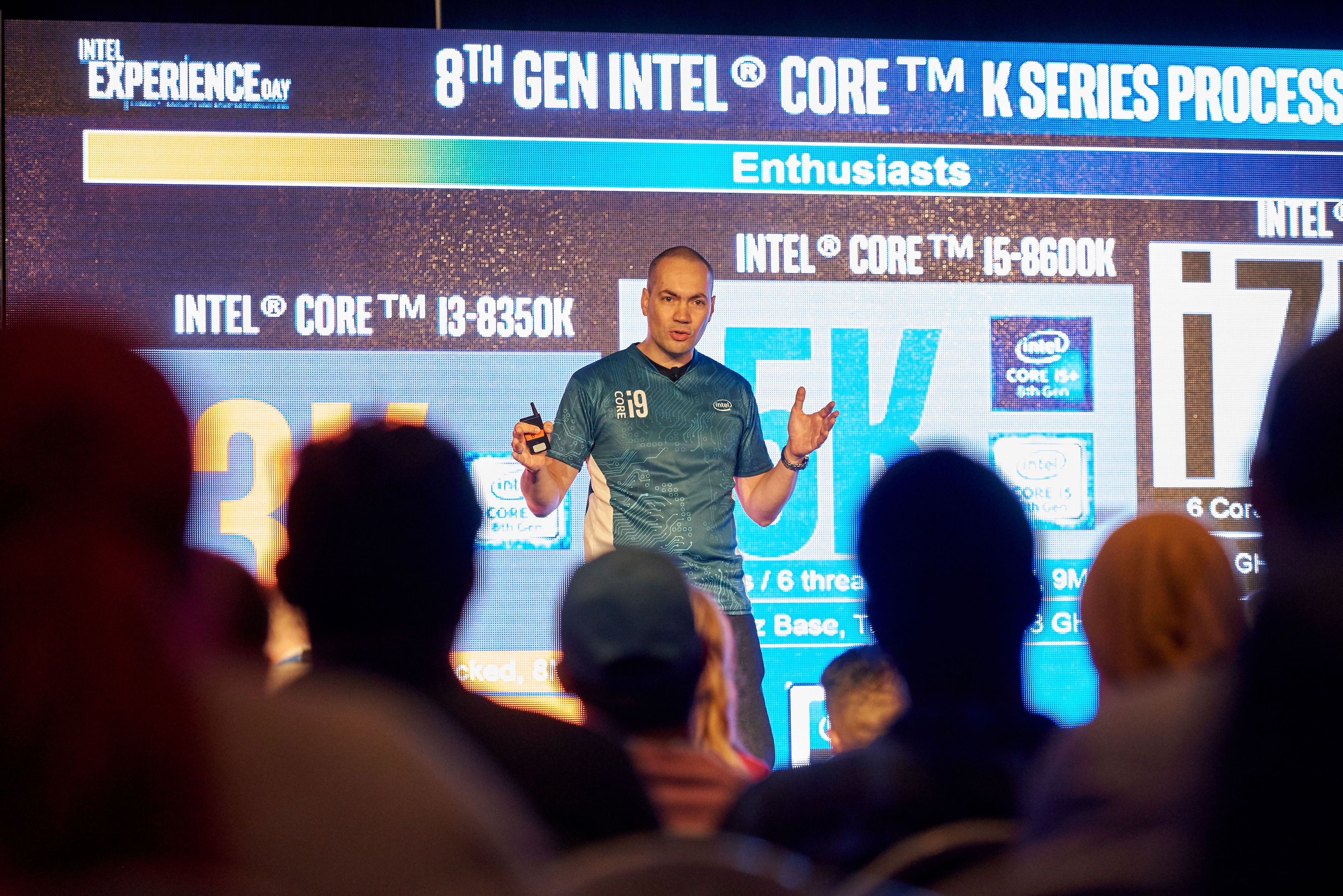 Intel Experience Day 2018 - Photo : Courtoisie d'Intel Canada.