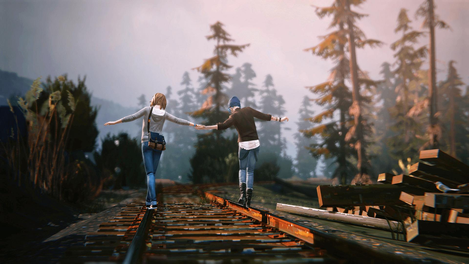 Max et Chloe dans Life is strange