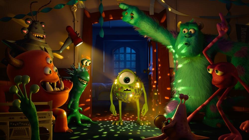 Film L'Université des Monstres du studio Pixar