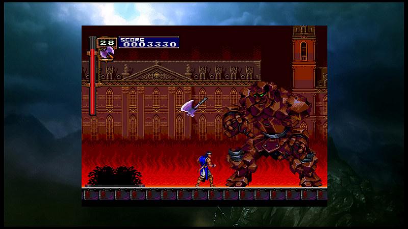 Un niveau de difficulté élevé, des niveaux secrets et des personnages à libérer sont des éléments particuliers à Rondo of Blood