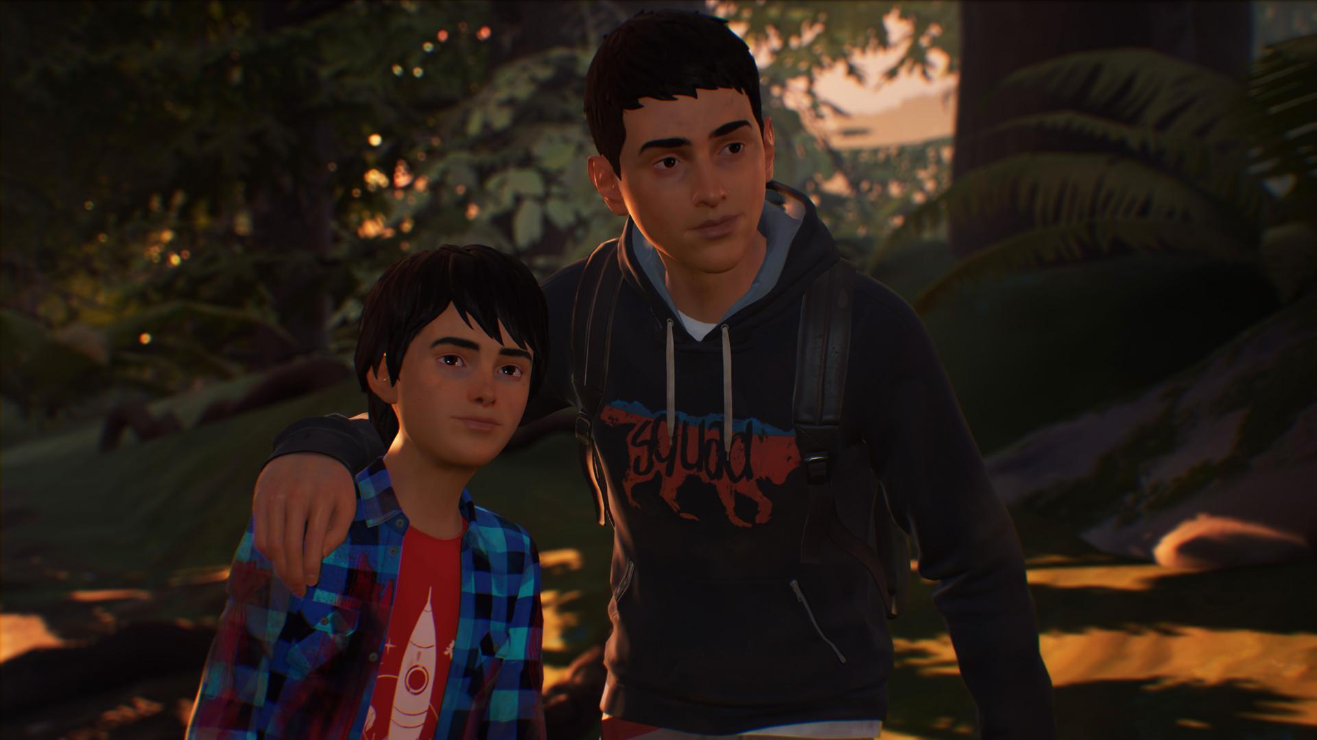 Sean et Daniel Diaz dans Life is strange 2