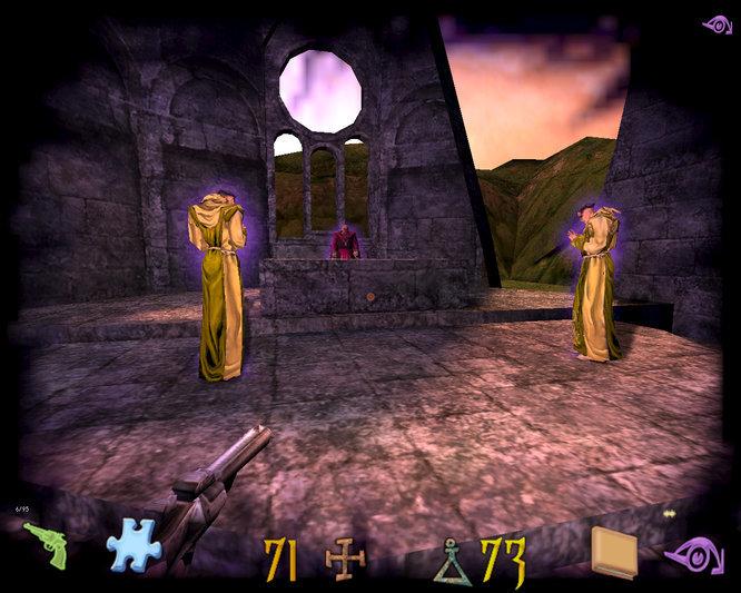 Un aspect du jeu particulier dans Undying est le pouvoir de voir des événements qui se sont déroulés dans le passé.