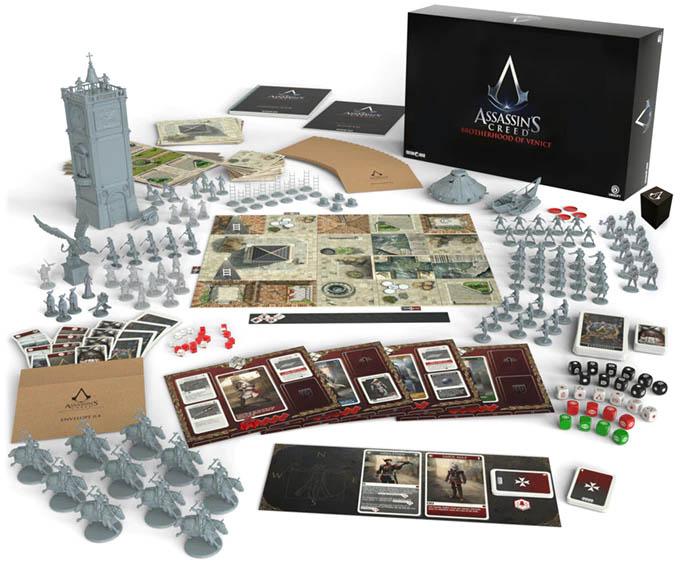 Jeu de société Assassin's Creed: Brotherhood of Venice