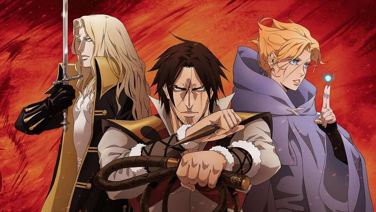 Alucard, Trevor et Sypha devront faire usage de toutes leurs habiletés pour vaincre Dracula et ses alliés