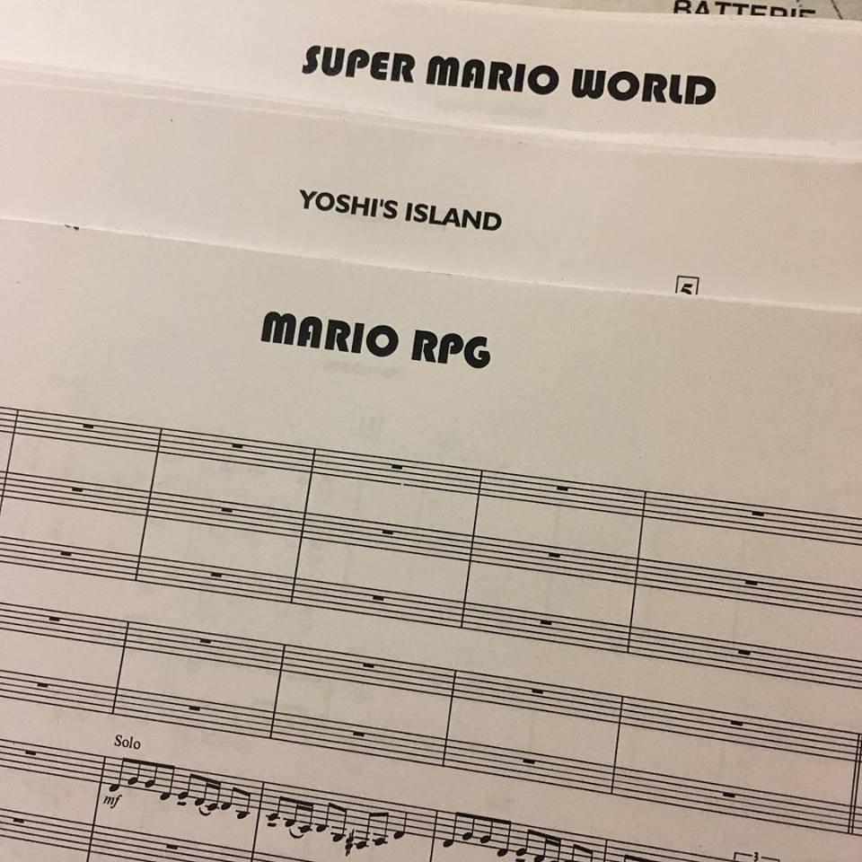 Les fans de la franchise Super Mario ont été servis avec des extraits de plusieurs titres