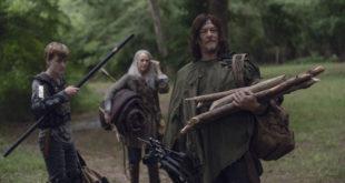 Henry (Matt Lintz), Daryl Dixon (Norman Reedus) et Carol Peletier (Melissa McBride) ont bien peu à faire durant cet épisode - The Walking Dead Saison 9 Épisode 7 - Crédit Photo: Gene Page/AMC