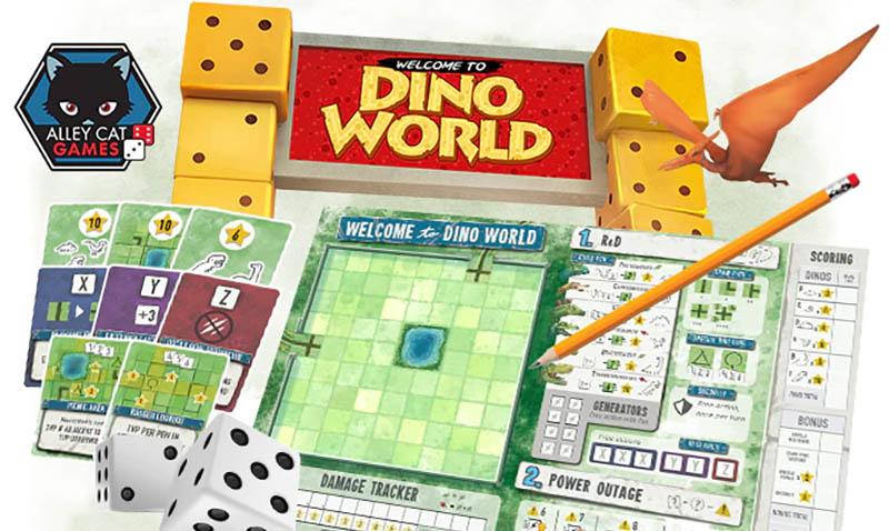 Jeu de société Welcome To Dino World