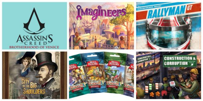 Jeux de société sur Kickstarter pour la fin novembre 2018