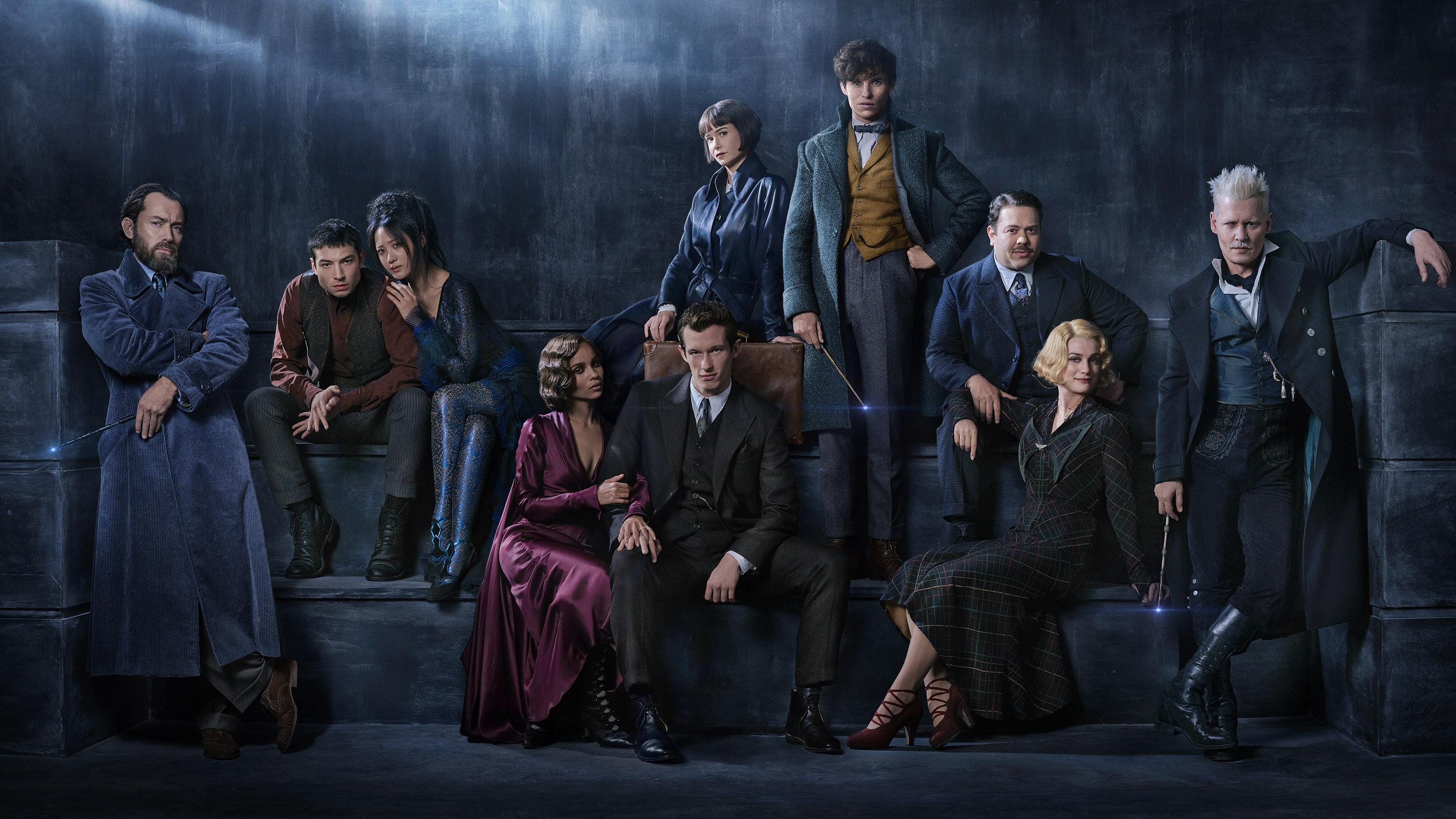 Casting du film Les Animaux Fantastiques : Les crimes de Grindelwald