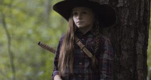 Judith Grimes (Cailey Fleming) représente à merveille le renouveau de la série - The Walking Dead - Saison 9, Épisode 5 - Crédit photo : Jackson Lee Davis/AMC