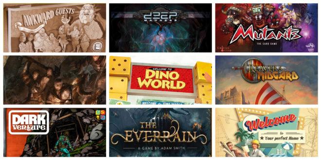 Kickstarter – Reavers of Midgard et huit autres nouvelles campagnes jeux de société