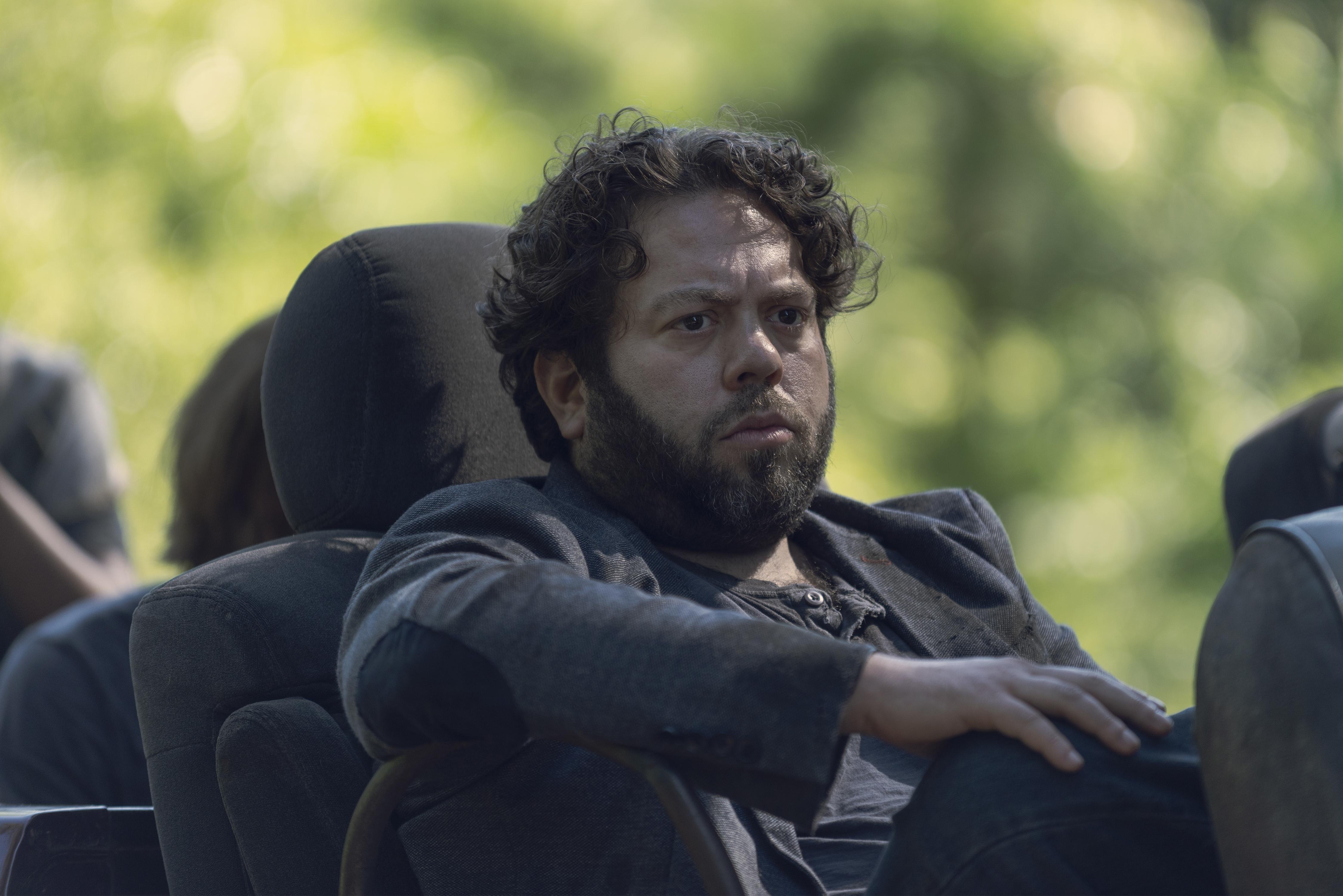 Luke (Dan Folger), songeur... - The Walking Dead Saison 9 Épisode 7 - Crédit photo : Gene Page/AMC