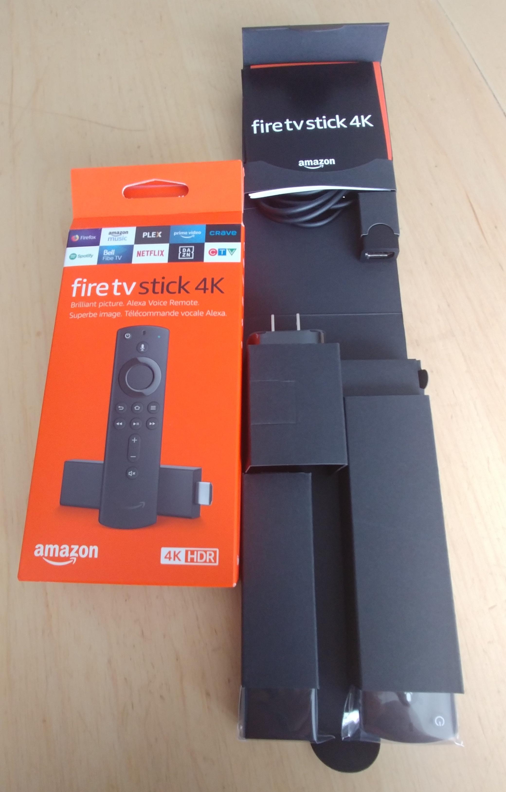 Le matériel de l'Amazon Fire TV Stick 4K