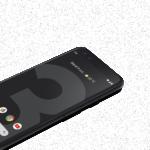 Pixel 3 - Juste noir
