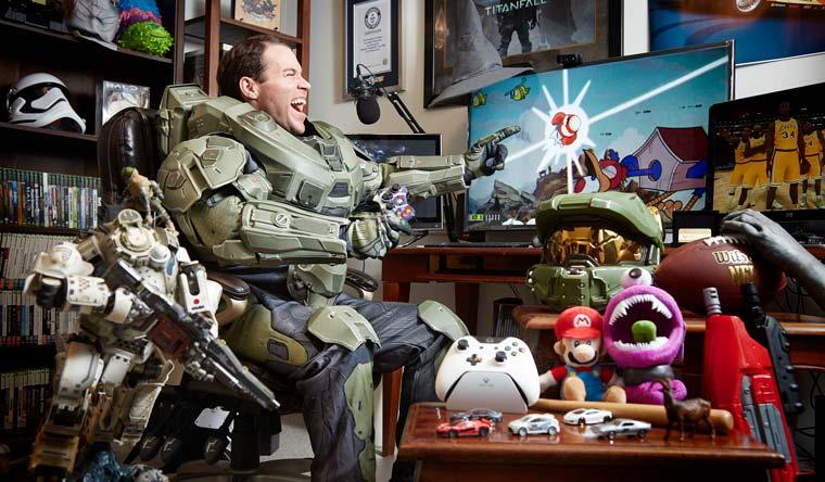 """Raymond """"Stallion83"""" Cox a le plus grand nombre de points Xbox obtenus grâce aux Achievements"""