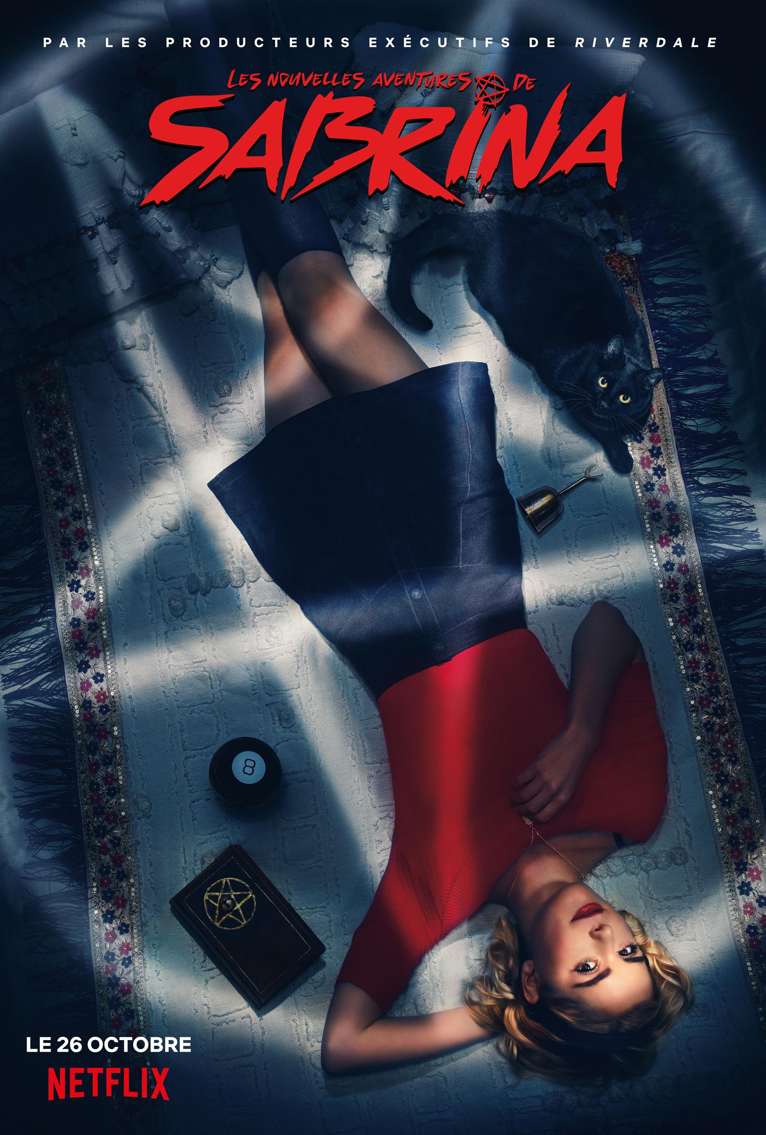 Les aventures effrayantes de Sabrina - Affiche de la saison 1. Photo : Courtoisie de Netflix.