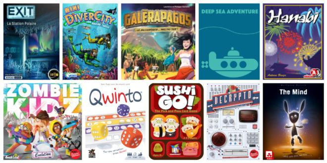 Suggestions de jeux de société en cadeaux de Noël pour moins de 25 $