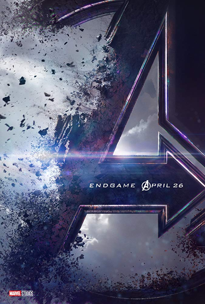 "Affiche du film ""Avengers : The End Game"" sortie 26 avril 2019"