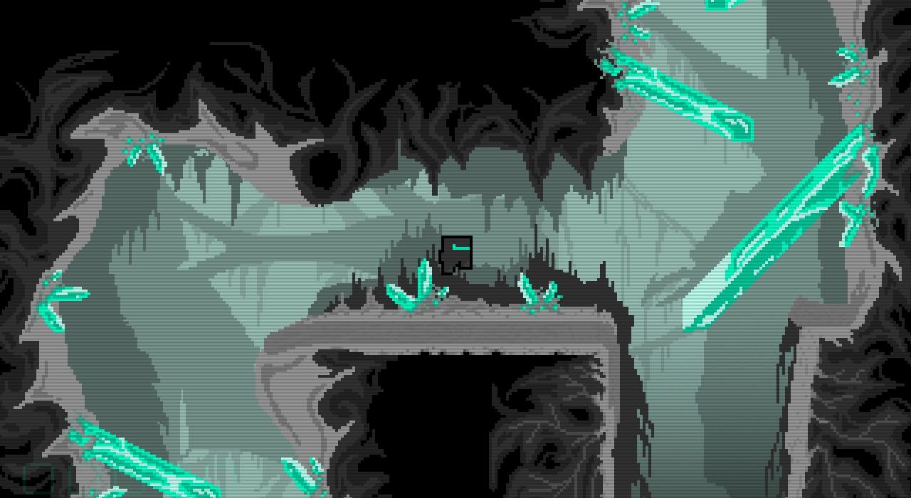 Dans SUO, le joueur aura à compléter des quêtes dans un environnement 2D pixélisé
