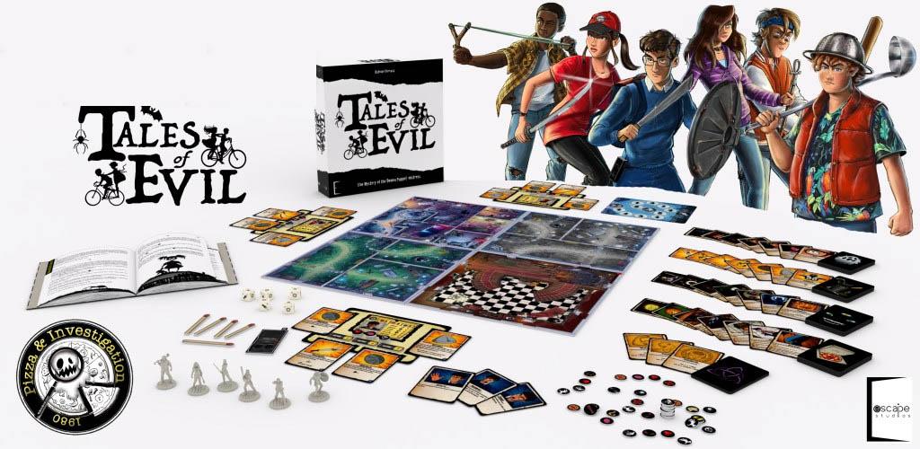 Jeu de société Tales of Evil
