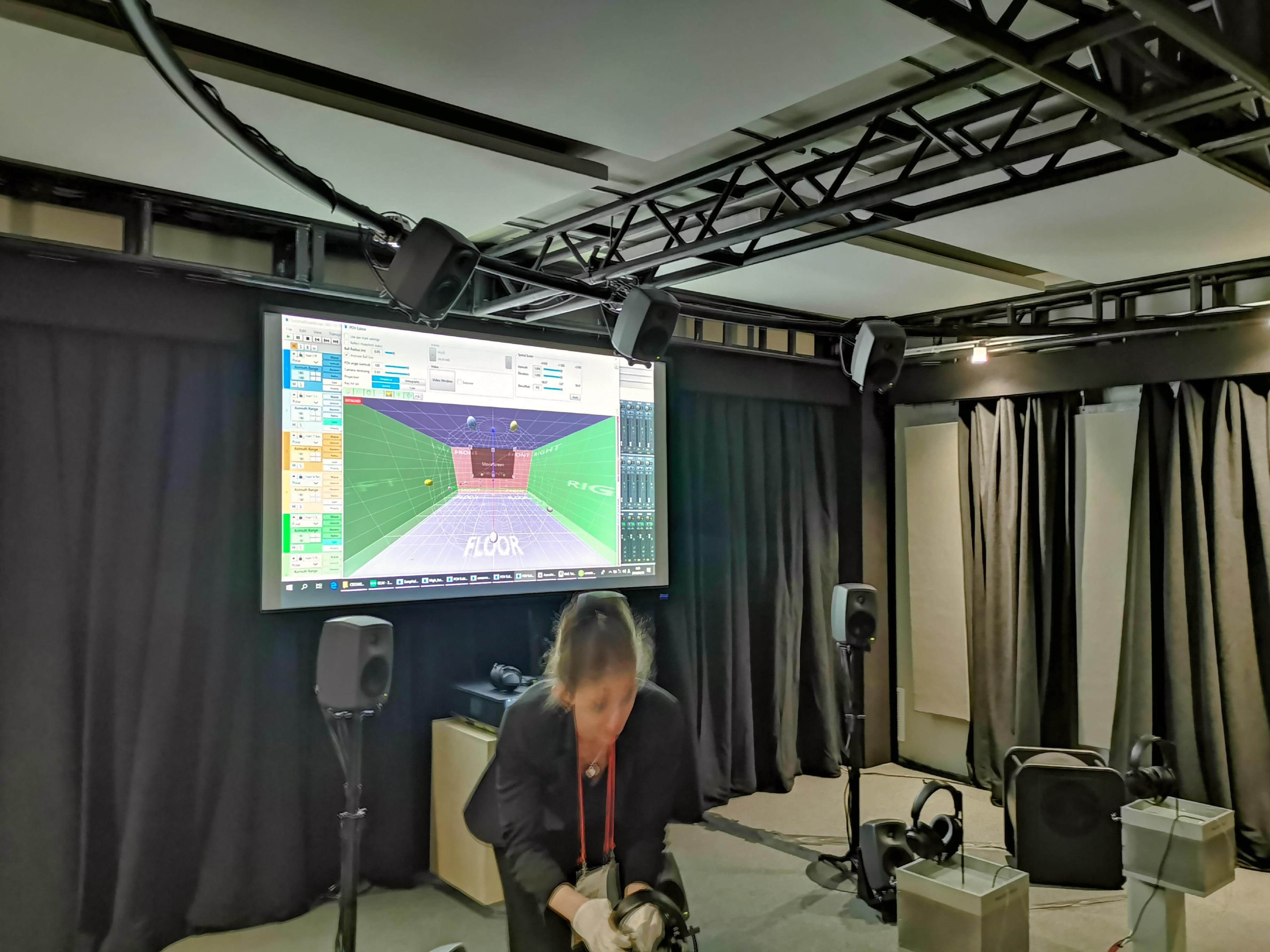 Sony 360 Reality Audio au CES 2019 - Photo : Eric Martel