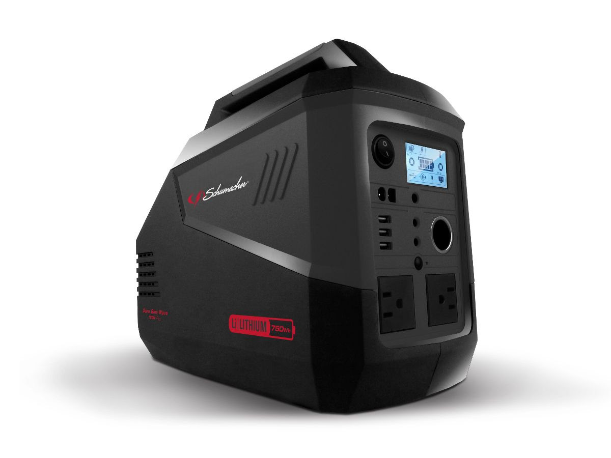 Le générateur portatif de Schumaher sera bientôt disponible au coût de détail suggéré de 1,299$US