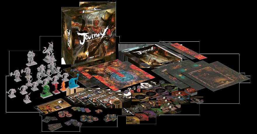 Jeu de société Journey: Wrath of Demons