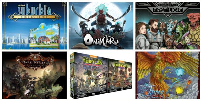 Jeux de société sur Kickstarter pour début janvier