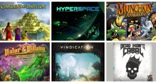 Jeux de société Kickstarter