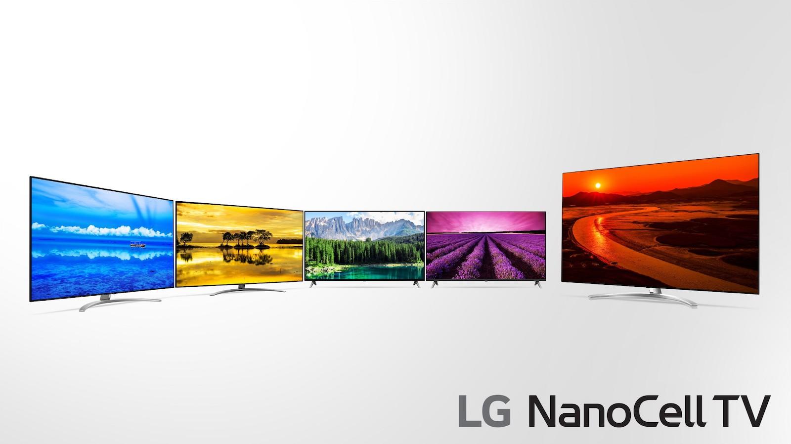 Téléviseurs LG LCD 2019